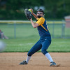 Littleton SS Abby Raymond scoops a ground ball during their 3-0  loss to Monty Tech in the Div III quarterfinals. SENTINEL&ENTERPRISE/ Jim Marabello