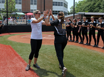 Molloy College vs Adelphi University NCAA Division II East Super Regional Game 2   May 19th 2017   Credit: Chris Bergmann Photography
