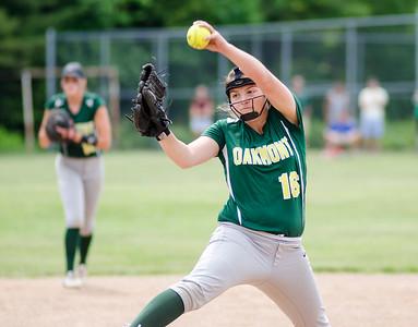 Oakmont softball v. Millbury 6-4-16