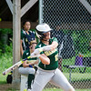 Oakmont's Steph Aube grabs a hit during the game against Millbury on Saturday afternoon. SENTINEL & ENTERPRISE / Ashley Green