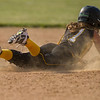 Panthers junior Mikenna Landis (7) steals second base in the Pioneer victory over North Miami on Saturday evening to capture the sectional championship. Fran Ruchalski | Pharos-Tribune