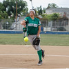 2015 Eagle Rock Softball vs Franklin Panthers