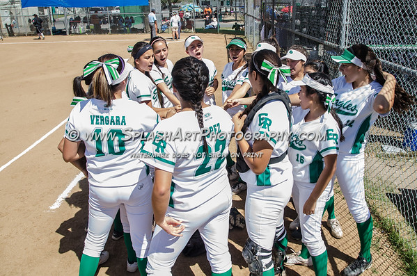 2015 Eagle Rock Softball vs Lincoln Tigers