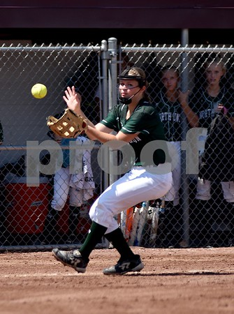 North Union vs Iowa City Regina during class 2A quarter finals State Softball Tournament at Harlan Rogers Sports Complex on July 20, 2016