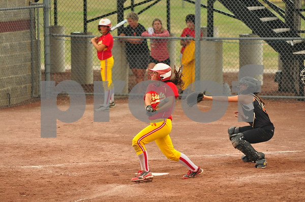 Carlisle and Washington met in a Class 4A semifinal at the state softball tournament in Fort Dodge on Thursday, July 25, 2013.
