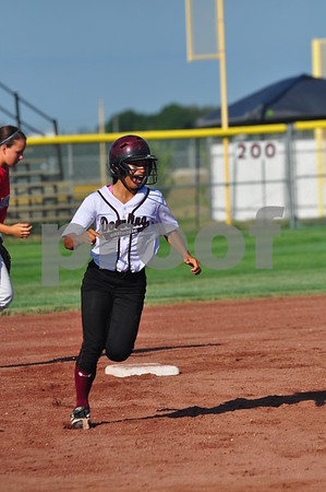West Des Moines Dowling and Dubuque Senior faced off in a Class 5A quarterfinal at the state softball tournament in Fort Dodge on Tuesday, July 23, 2013.