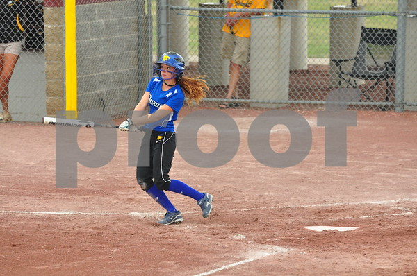 No. 3-ranked Durant knocked off Lawton-Bronson, 2-0, in a Class 2A quarterfinal-round game at the state softball tournament in Fort Dodge on Monday, July 22, 2013.