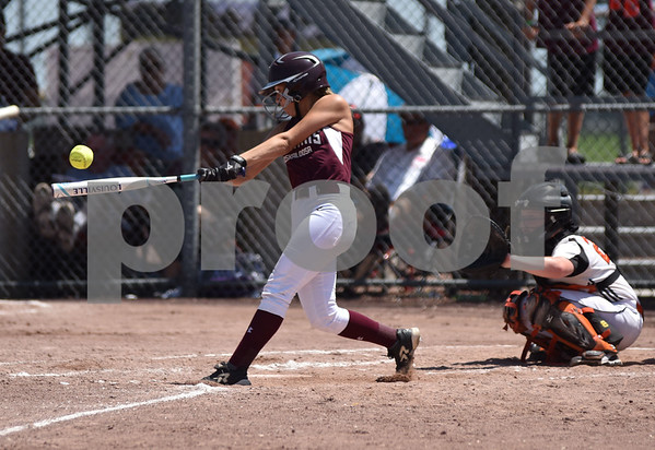 Oskaloosa vs Fairfield during 4A Semi-finals State Softball Tournament at Harlan Rogers Sports Complex on July 21, 2016
