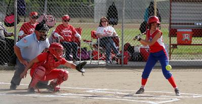 Strathmore @ Lindsay  Softball - 4-4-2013