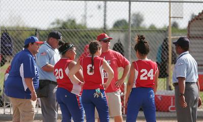 Strathmore @ Lindsay - Girl's Varsity Softball 4-2-13