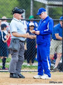 Good Counsel @ DJO Varsity Softball (04 May 2014)