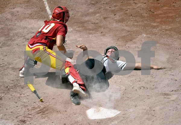 Carlisle vs Charles City during class 4A quarter finals State Softball Tournament at Harlan Rogers Sports Complex on July 20, 2016