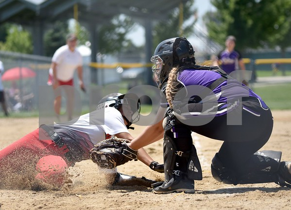 Fort Dodge vs Indianola during class 5A Consolation State Softball Tournament at Harlan Rogers Sports Complex on July 20, 2016