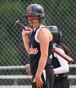 The Strothers high school girls softball team played the Wewoka lady Tigers in Wewoka, Oklahoma, August 16, 2007 in 100 degree heat. Strothers won the game 7-3.