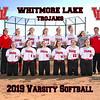 2019 Whitmore Lake Softball Team 8x10