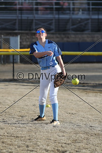 West Springfield @ Yorktown Girls Softball (14 Mar 2019)