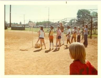 Playing Softball (01215)