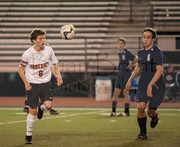 Boys Varsity Soccer Game 11.2.15