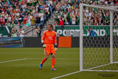 PORTLAND, OR - JUNE 24: Seattle Sounders at Portland Timbers during the MLS regular season game, on June 24, 2012 at Jeld-Wen Field in Portland, OR.