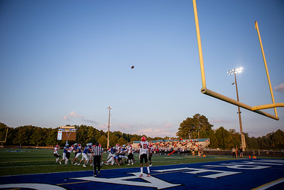Scenes from a high school football game at South Forsyth High School in Cumming, Ga., on Thursday, Oct. 15, 2020. (Photo/Jenn Finch)