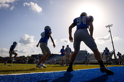 Photos from a JV high school football game against Gainesville at South Forsyth High School in Cumming, Ga., on Thursday, Aug. 26, 2021. (Casey Sykes for South Forsyth)