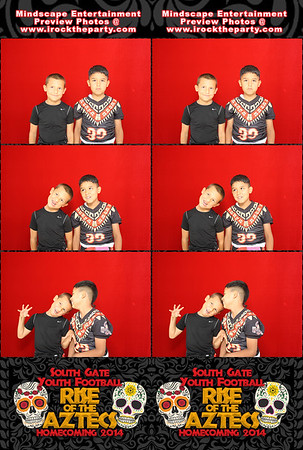 South Gate Youth Football - Photo Booth Pictures