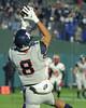 Allen WR #8  Makes the catch for an Allen touchdown.