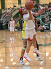 #10 SGP guard Victoria Dixon goes high for a lay-up.<br /> South Grand Prairie High girls basketball takes on DeSoto High girls basketball team in the Texas State 6A semi-finals.