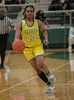 #23 DeSoto guard Kendall Brown.<br /> South Grand Prairie High girls basketball takes on DeSoto High girls basketball team in the Texas State 6A semi-finals.