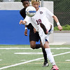 Matt Hamilton/The Daily Citizen<br /> SE19 clears the ball out.