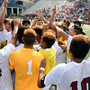 Matt Hamilton/The Daily Citizen<br /> SE players celebrate as time expires.