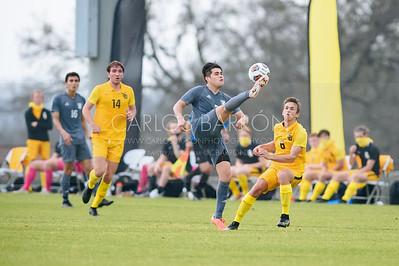 SU Men's Soccer vs Texas Lutheran - February 2021