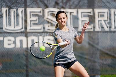 SU Women's Tennis - February 2020