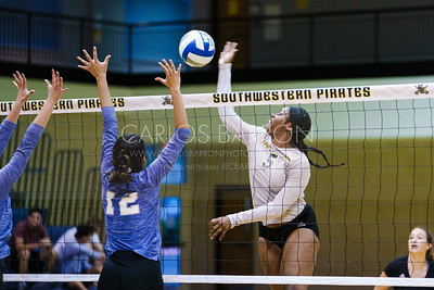 SU Women's Volleyball vs Our Lady of the Lake - September 2019