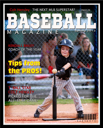 Colt Hensley Magazine Cover