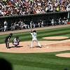 Nick Swisher at bat