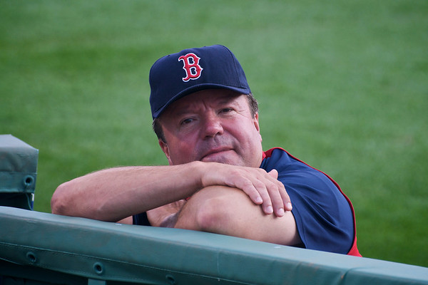 This will be a good senior portrait of bullpen coach Gary Tuck for the Sox yearbook