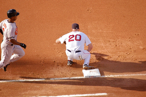 Youk digs one out of the dirt