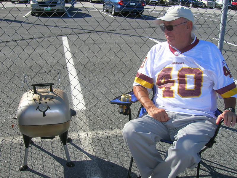 Joe and Sparky the Grill