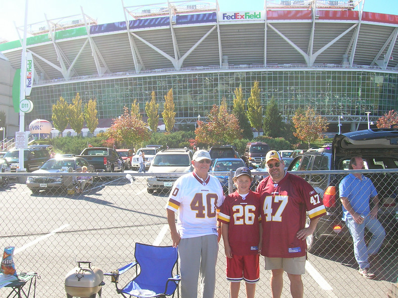 FedEx Field, Landover MD  10/21/07