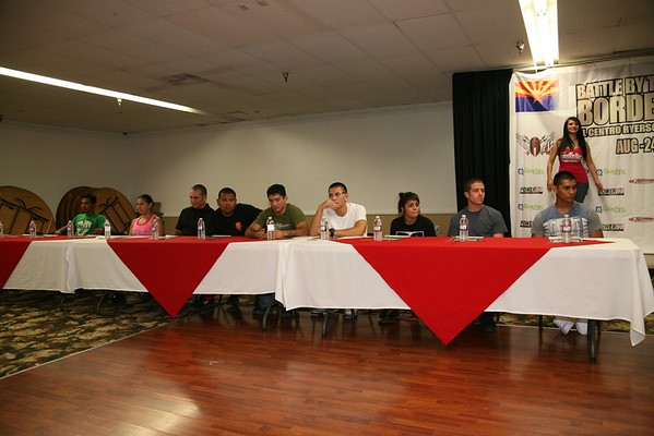 Battle by the Border 4 Press Conference