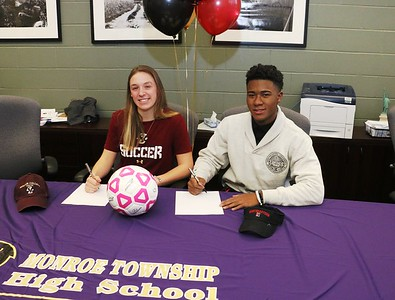 Feb. 8th, 2016 Signing of Erin Seppi  and Justin Armorer to play Div I Soccer for Boston College and Northeastern U respectively.