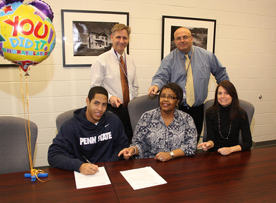 Michael Skibniewski, Letter of intent for a Swimming Scholarship to swim for Penn State University, Nov. 19, 2013