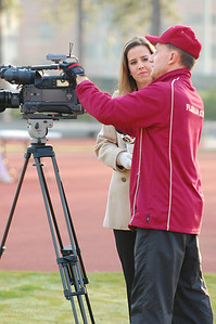 """I'm guessing this had to be an """"in-house"""" FSU film crew. Perhaps some of that video or a story will be filed here:  http://seminoles.cstv.com/ (Previous Special Olympics stories have ended up under the """"Community Service"""" link.)"""