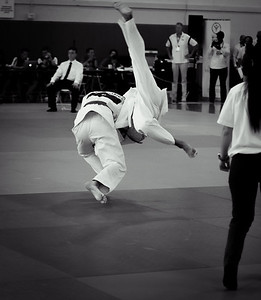 Powerful Judo Throw - photographed by Kevin Gilligan