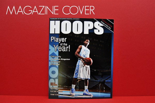 <center>~$20.00~ Every athlete dreams of being featured on the cover of a magazine</center>