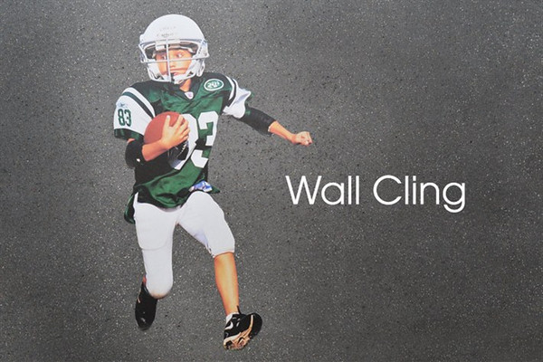 <center> ~ $60.00 ~ Action shots come to life with our life-sized Wall Clings  - Size 18x12 </center>