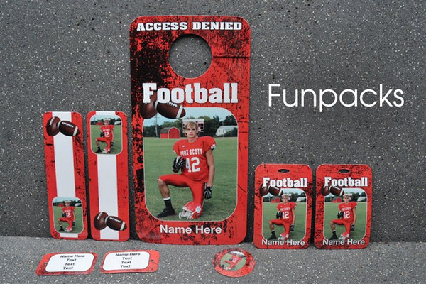 <center>~$17.00~ Add fun to your sports packages with Funpacks</center>