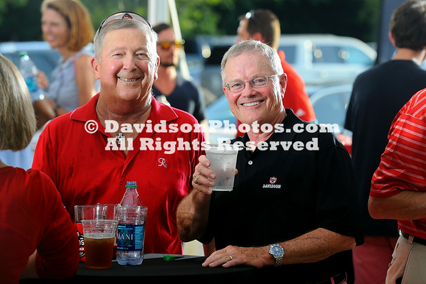 NCAA A-10 Conference:  JUL 01 Davidson College Celebrates Joing The A-10 Conference