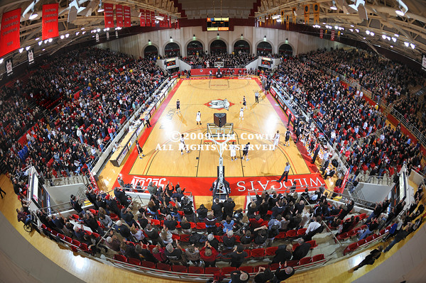DAVIDSON, NC -  Davidson defeats College of Charleston 86-71 in SoCon play at Belk Arena in Davidson, North Carolina.
